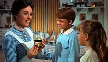 "From left, Julie Andrews, Matthew Garber and Karen Dotrice in ""Mary Poppins."""